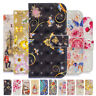 For Samsung Galaxy S10 S9 S8 S7 3D Painted Leather Case Wallet Flip Card Cover