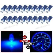 20x T10 Wedge LED Light Blue 192 168 194 2825 For Instrument Map Dash Bulbs