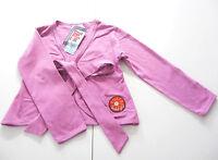Sweat Jacke Gr.104 Zie Zoo NEU m.E 100% Baumwolle Bänder violett Blume kinder