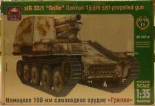 Ark 1/35 German 15 cm Self Propelled Gun Grille sIG Model Kit 35014