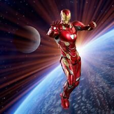 "1/6 Iron Man Backdrop 15""x15"" - For Hot Toys Iron Man Die Cast Mark 50 47 Stark"