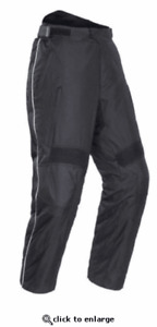 Tourmaster Overpant Motorcycle Pant Abrasion Resistant Waterproof CE L Reg.$149