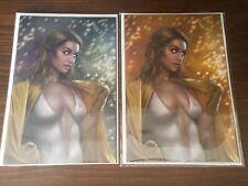 The Boys Dear Becky #1 **Starlight** Both Virgin Variant Covers by Carla Cohen