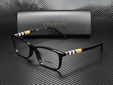 BURBERRY BE2199F 3001 Black Demo Lens 55 mm Men's Eyeglasses