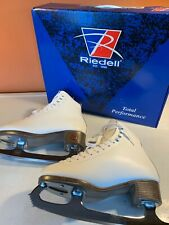 New listing Riedell 121 Figure Ice Skates - Women's Size 4 (Wide) - White - Great Condition