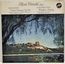 "ALFRED BRENDEL PLAYS ""Beethoven / Schubert - Liszt""  Vinyl LP  Vox PL 14.160 VG+"