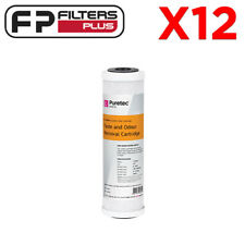 """12 x 10"""" x 2.5"""" Puretec Replacement Carbon Water Filter -  0.5 Micron"""