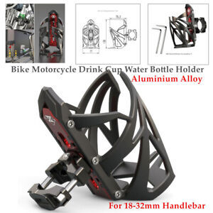 Universal 18-32mm Handlebar Bike Motorcycle Drink Cup Water Bottle Holder Kit