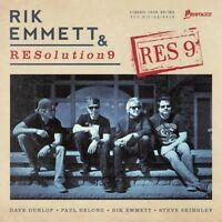 RIK/RESOLUTION 9 EMMETT - RES9   CD NEU