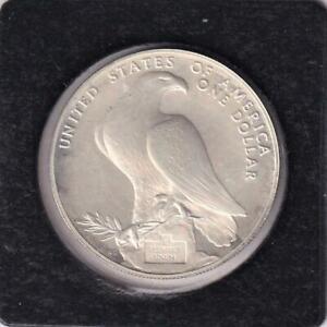 1984 USA SILVER LIBERTY DOLLAR COIN, LOS ANGELES OLYMPICS  M21