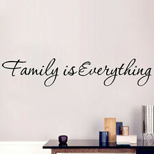 Useful Family Is Everything Wall Removable Sticker Art Quote Vinyl Decal Decor