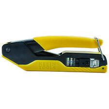 Klein Tools Vdv226-005 Compact Pass-Thru Crimper, Modular Crimper for Rj45