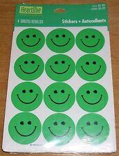 Hallmark St Patrick's Day Stickers Smiley Face Shamrock Eyes Free Ship at $15