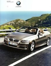 2008 BMW 3 Series Convertible sales Brochure MINT