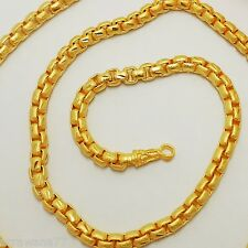 Chain 22K 23K 24K THAI BAHT GOLD GP NECKLACE 26 Inch 55 Grams Jewelry