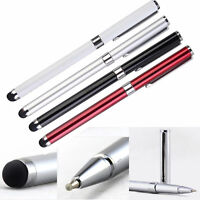 Newely 2 in1 Touch Screen Stylus Ballpoint Pen for iPad iPhone Samsung Tablet 1X