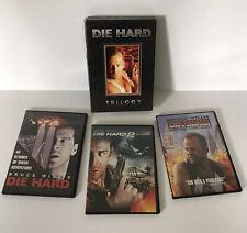 DIE HARD Trilogy: Die Hard, Die Harder, With A Vengeance DVD 3 Disc Box Set