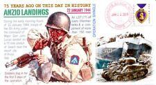 COVERSCAPE computer designed 75th anniversary WWII Anzio Landings event cover