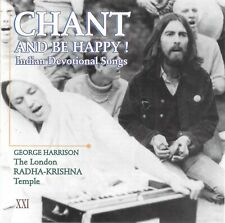 GEORGE HARRISON RADHA KRISHNA TEMPLE 1971 Apple LP on Canada 1991 CD w/ BEATLES