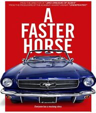 A FASTER HORSE (2015): THE FORD MUSTANG - Car History Documentary - NTSC NEW DVD