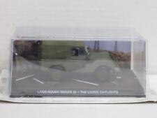 """Land Rover Series III + Figuren, James Bond """"Der Hauch des Todes"""", OVP, UH, 1:43"""