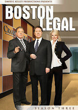 Boston Legal - Season 3 (DVD, 2009, 7-Disc Set)