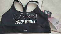 Victoria Secret:  LIGHTLY LINED SPORTS BRA Large nwt new black