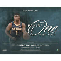 2019-20 PANINI One and One BASKETBALL FACTORY SEALED HOBBY BOX-IN STOCK! ZION?