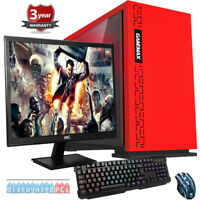 Ryzen 5 Six Core 23.6'' Desktop Gaming PC Bundle 30GB 2TB GTX1660 6gb WIFI y19