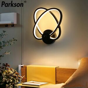 Bedroom Wall Sconce with LED Bulb Bedside Wall Lamp Modern Pendant Light Indoor