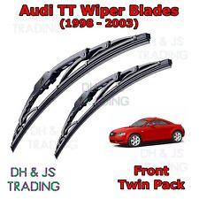 """(98-03) Audi TT 8N MK1 Front Wiper Blades Window Windscreen 22"""" 21"""" Hook Type"""