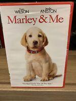 Marley & Me DVD New/Sealed *Free Shipping* Jennifer Aniston