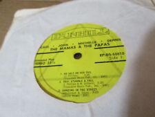Rock 45 EP MAMAS & PAPAS Cass John Michelle Denny Juke Box Ep / 33 1/3 Mini Lp