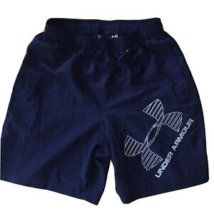 UNDER ARMOUR BLUE SHORTS MENS MEDIUM