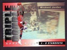 Michael Jordan 1993-94 Upper Deck Triple Double #TD2  READ