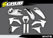 Plastik KTM EXC EXCf 125 250 300 350 450 500 2012 2013 SCRUB VOLL kit