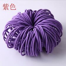 100pcs Fashion Elastic Rope Women Hair Ties Ponytail Holder Head Band Hairbands