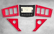 2017 Polaris RZR XP 1000 Ride Command Dash Panel Plate RED NEW Custom