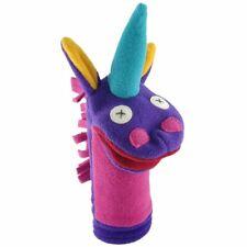 Cate & Levi Fleece Hand Puppet Unicorn  Handmade in Canada
