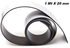 STRISCIA MAGNETICA ADESIVA RITAGLIABILE 1 METRO X 20 mm