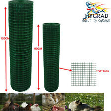"""1"""" WELDED WIRE MESH AVIARY FENCING HUTCHES PET RUN COOP ANIMAL FENCE 4 SIZES"""