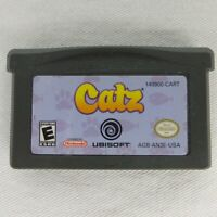 Catz Nintendo Game Boy Advance GBA  2006 Game Only Ubisoft Fully Tested Works