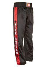 Kickboxhose Kick, von Ju Sports, in rot oder schwarz von 110 - 200cm erhältlich.