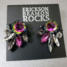 Crystal Designer Earrings Erickson Beamon Rocks Earrings