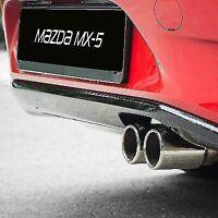 Genuine Mazda mx5 Bastuck Sport exhaust 2015 onwards  410078501