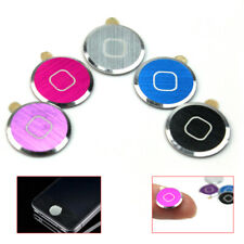 5 X Aluminium Metal Home button Sticker For iPhone iPod Touch 4 4G 5 ipad