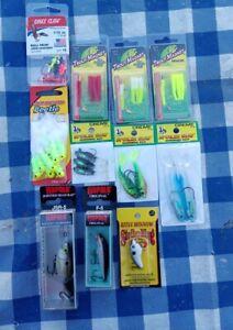 11pc Trout/panfish fishing lure Combo Set, multiple brands