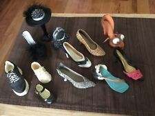 """Just the Right Shoe Miniatures No Box or Coa. Condition is """"Used"""" Lot of 10"""