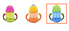 Kidland's Baby Feeding Bottle Straw Cup Drinking Bottle Sippy Cups - Green