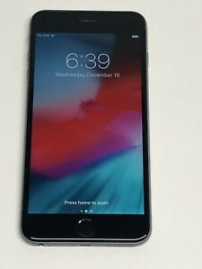 Apple iPhone 6 Plus - 128GB - Space Gray - Factory Unlocked - A1522 (CDMA + GSM)